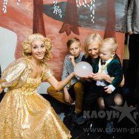 Шоу мыльных пузырей на праздник и День Рождения