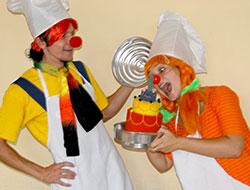 Аниматоры для детей весёлые Клоуны-Поварята