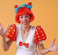 Детский аниматор клоун Горошинка
