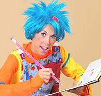Детский аниматор клоун Липучка