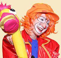 Детский аниматор клоун Василий