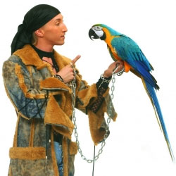 Шоу Повелитель попугаев